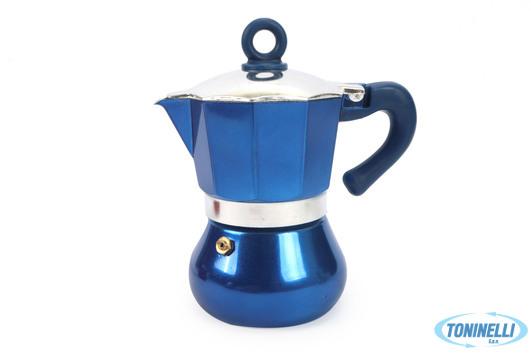 Carioca Caffettiera 3 Tazze Blu